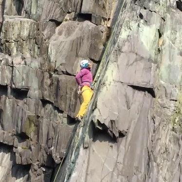 Headgame Crag Climb