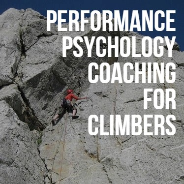 Performance Psychology Coaching for Climbers
