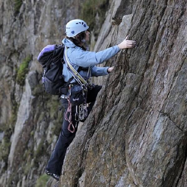 Rebecca Climbing